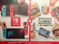 Nintendo Swith + Labo Variety Kit Box Art