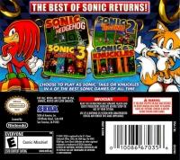 Sonic Classic Collection Box Art