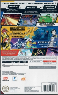 Digimon Story Cyber Sleuth: Complete Edition Box Art