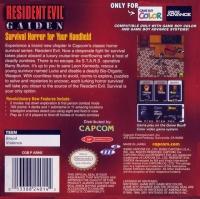 Resident Evil Gaiden Box Art