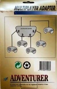 Adventurer 4 Multiplayer Adapter Box Art