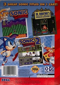 Sonic Classics (1190) Box Art