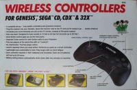 Doc's Wireless Controllers for Genesis, Sega CD, CDX & 32X Box Art