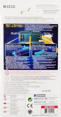 HORI Screen Protective Filter (3DS) Box Art