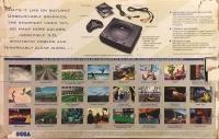 Sega Saturn - Virtua Fighter (white label / MK-80006) Box Art