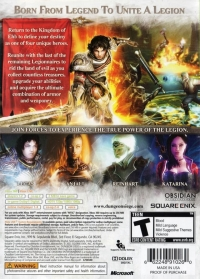 Dungeon Siege III Box Art