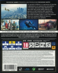 Grand Theft Auto V - Premium Edition [IT] Box Art