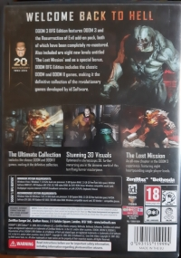 Doom 3 - BFG Edition [SE][DK][NO][FI] Box Art