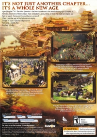 Age of Empires III: The Asian Dynasties Box Art