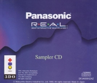Panasonic Sampler CD Box Art