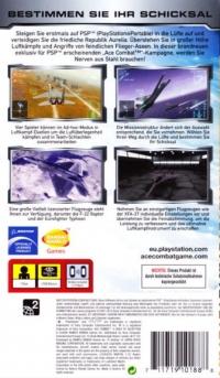 Ace Combat X: Skies of Deception - PSP Essentials [DE] Box Art