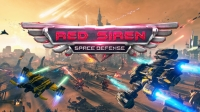 Red Siren: Space Defense Box Art