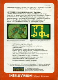 Advanced Dungeons & Dragons (Red Cartridge Label) Box Art