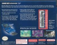 Nintendo Game Boy Advance SP - Cobalt [NA] Box Art