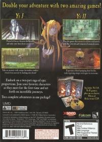 Ys I & II Chronicles - Premium Edition Box Art