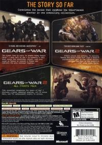 Gears of War: Triple Pack Box Art