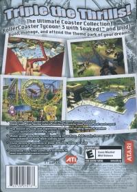 RollerCoaster Tycoon 3: Platinum! Box Art