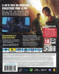 Last of Us, The: Remastered [FR] Box Art