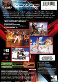 Dead or Alive: Ultimate Box Art