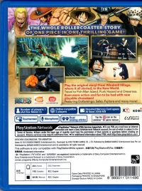 One Piece: Pirate Warriors 3 Box Art