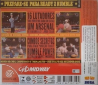 Ready 2 Rumble Boxing (Inadequado para Menores de 12 anos) Box Art
