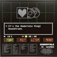 Undertale Soundtrack Box Art