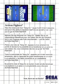 Action Fighter (No Limits) Box Art