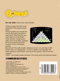Q*bert Box Art