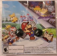 Paper Mario - The Origami King Pin Set GameStop Exclusive Box Art