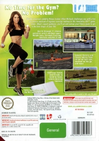 Jillian Michaels' Fitness Ultimatum 2009 Box Art