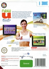 NewU Fitness First: Personal Trainer Box Art