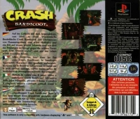 Crash Bandicoot Box Art