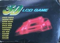 3D LCD Game - Space War Box Art