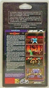 Mortal Kombat II [FR] Box Art