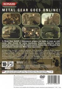 Metal Gear Solid 3: Subsistence Box Art