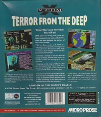 X-Com Terror From The Deep Box Art