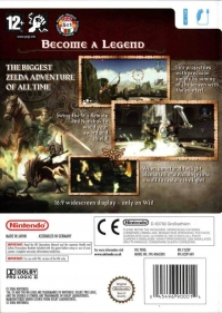Legend of Zelda, The: Twilight Princess Box Art