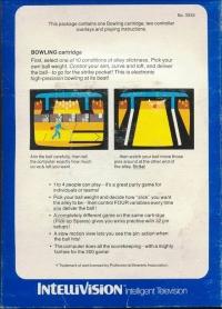 Bowling (blue label) Box Art