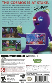 Trover Saves the Universe Box Art