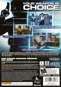 Alpha Protocol: The Espionage RPG Box Art