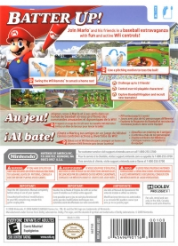 Mario Super Sluggers Box Art