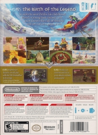 Legend of Zelda, The: Skyward Sword (Includes Wii Remote Plus) Box Art