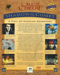 Call of Cthulhu: Shadow of the Comet Box Art