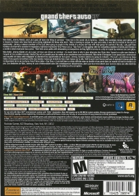 Grand Theft Auto IV & Episodes from Liberty City - The Complete Edition Box Art