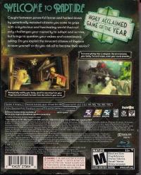 BioShock (Slipcover) Box Art