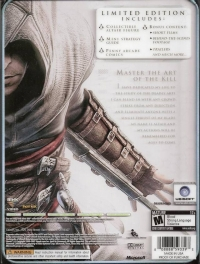 Assassin's Creed - Limited Edition Box Art
