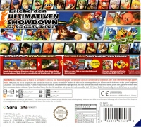 Super Smash Bros. for Nintendo 3DS [DE] Box Art