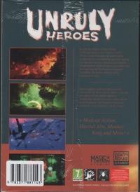 Unruly Heroes (box) Box Art