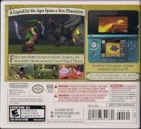 Legend of Zelda, The: Ocarina of Time 3D (Not for Resale) Box Art