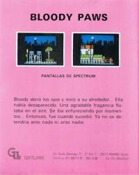 Bloody Paws Box Art